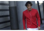 Pánske športové tričko Kariban dlhý rukáv